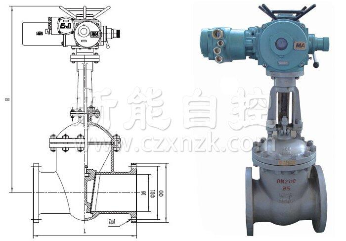 MZ矿用电动闸阀