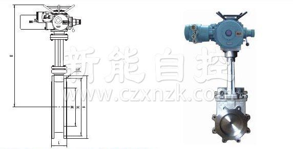 矿用电动刀闸阀(浆液阀)